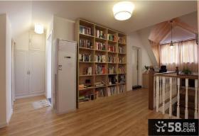 现代风格阁楼书房装修效果图片