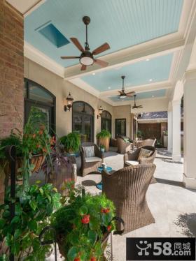 东南亚装修设计阳台餐厅图片欣赏
