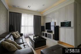 现代装饰客厅电视背景墙图欣赏大全