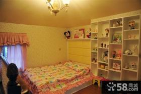 美式田园风格儿童房装修图2014