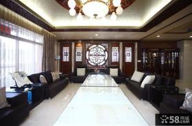 现代中式别墅室内设计图片