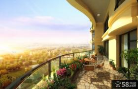 家庭阳台设计图
