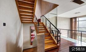 实木楼梯踏步装修效果图
