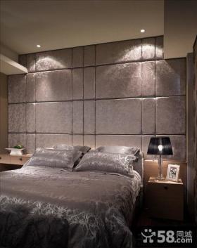 卧室墙面软包背景墙设计