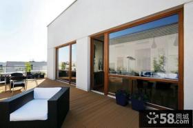 北欧简约设计阳台图片欣赏