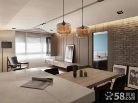 时尚现代家庭设计餐厅效果图