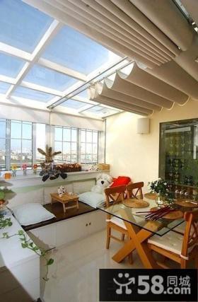 美式设计阁楼窗户图片
