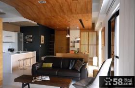 家装现代客厅吊顶图欣赏