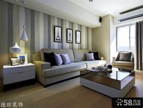 现代简约客厅装修设计欣赏