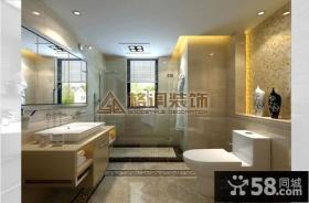 优质现代风格卫生间装修效果图大全2013图片欣赏