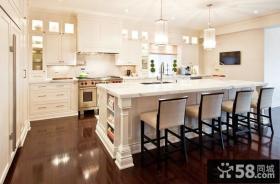 简约设计室内厨房橱柜效果图