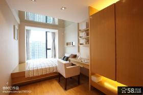 现代小卧室阳台设计效果图