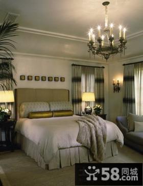 80平米小户型欧式卧室装修效果图 温馨宜人