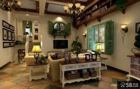 客厅电视背景墙装修设计图片
