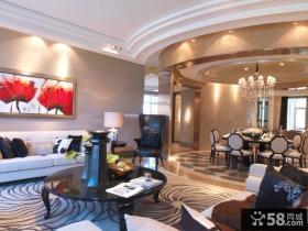 别墅客厅装修图欣赏