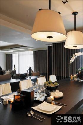 现代高级公寓餐厅设计案例