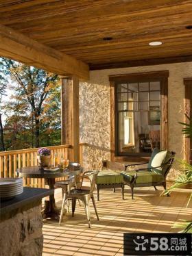 二楼阳台小花园设计