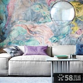 优质简约客厅沙发背景墙装修效果图
