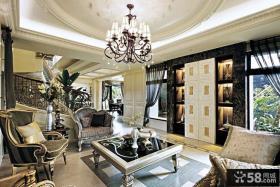 新古典主义风格别墅室内装修效果图