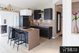 简约装饰小户型厨房室内设计图片