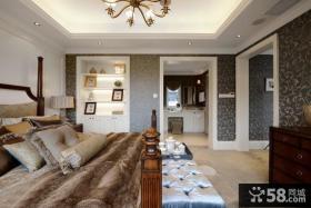 美式风格大卧室装修效果图欣赏
