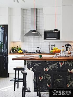 66平米小户型厨房装修设计效果图