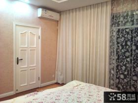 简欧白色卧室门效果图