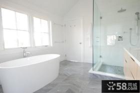 农村别墅图片大全 舒适的卫生间装修效果图大全2012图片