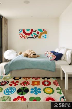 家居儿童卧室装修效果图