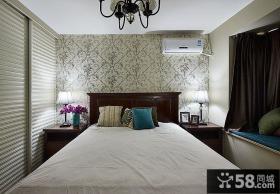 室内现代卧室飘窗