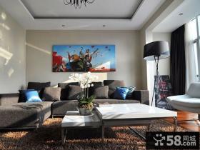 现代家居复式装修设计效果图片