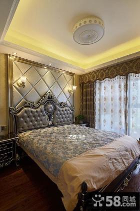 欧式装修卧室装修布置图片