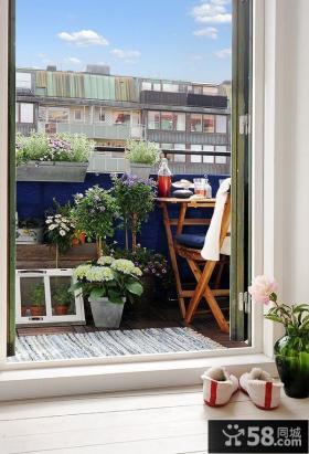 家庭小阳台装修效果图