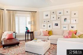 家庭客厅简单装修图片