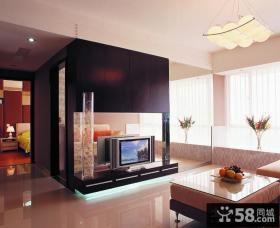 家居室内客厅电视背景墙装修图片欣赏