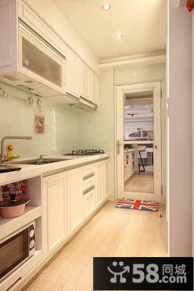 简欧式家居厨房装修案例