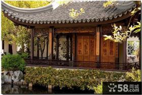 中式古典园林风格