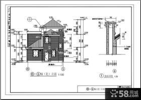 农村房屋建飞别墅设计图纸及效果图大全