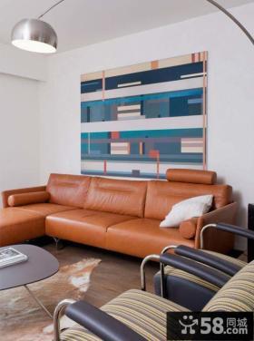 现代简约风格两室两厅装修效果图大全欣赏