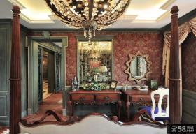 美式新古典风格室内样板间图片大全