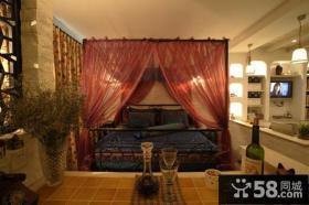 欧式复古卧室装修效果图欣赏