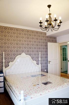 家装卧室墙纸图片大全