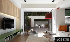 现代简约别墅客厅装修图片