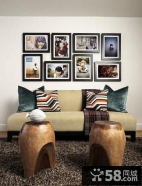 现代简约客厅装饰画图片