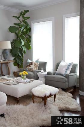 客厅飘窗装修效果图2013图片