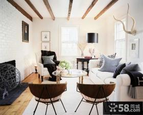 简欧风格别墅客厅设计