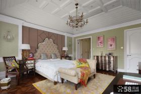 简欧风格大卧室装饰设计效果图