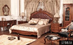 欧洲古典主义风格卧室装修效果图
