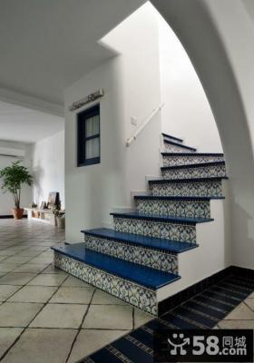 地中海风格楼梯设计