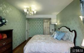 田园美式风格卧室装修图片欣赏